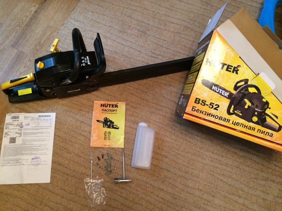 Бензопила huter bs-40: обзор, отзывы, инструкция