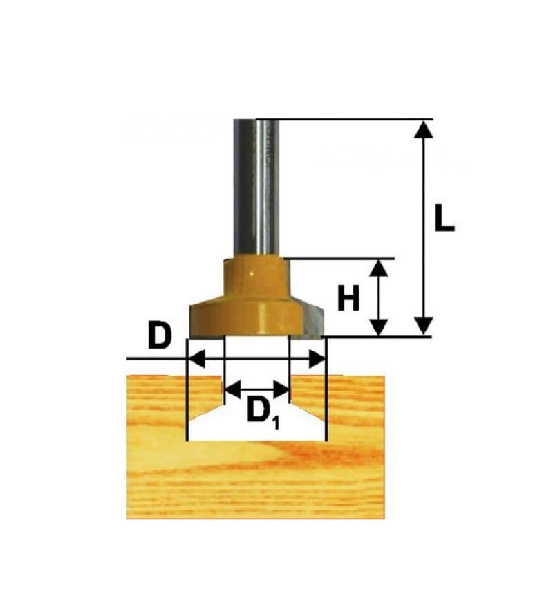 Гост р 53004-2008фрезы для обработки т-образных пазов. технические условия