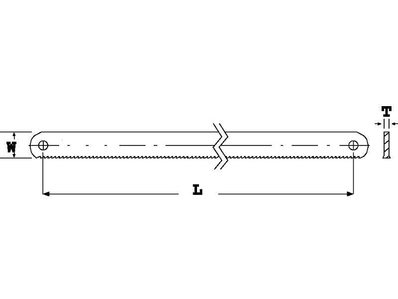 Ножовочное полотно по металлу - виды полотен и критерии выбора