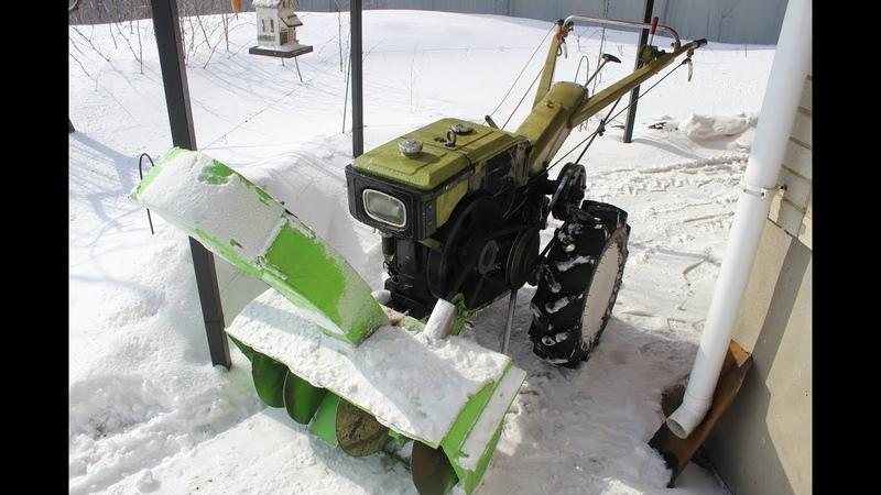 Снегоуборщик кротов и культиватор - как сделать своими руками два в одном