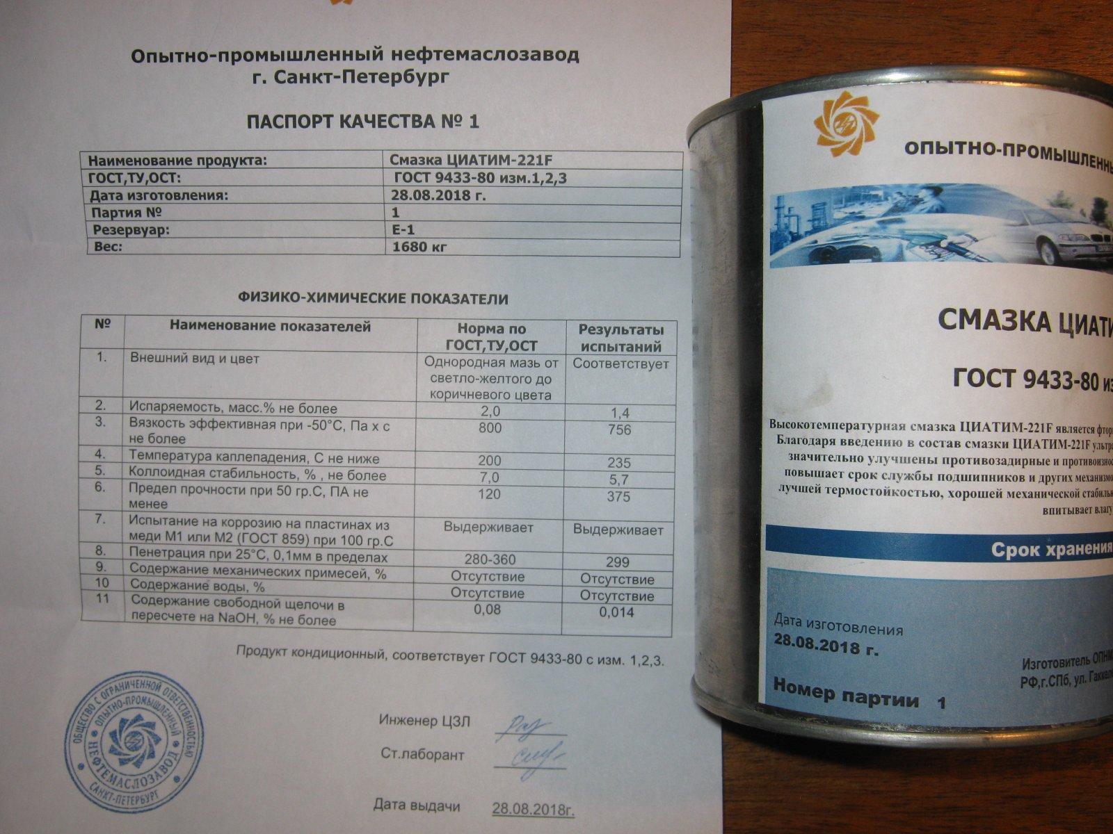 """Применение """"циатим-221"""". термостойкая пластичная смазка """"циатим-221"""": характеристики - новости, статьи и обзоры"""
