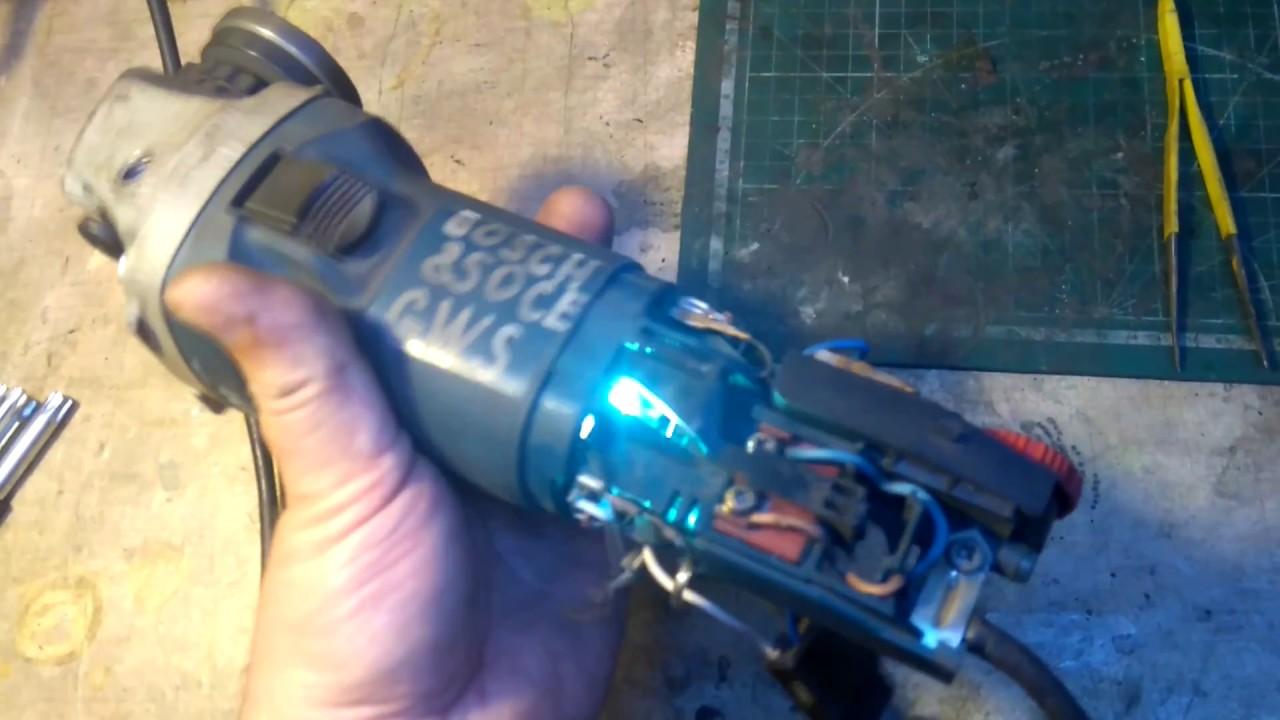 Что делать, если искрит двигатель стиральной машины
