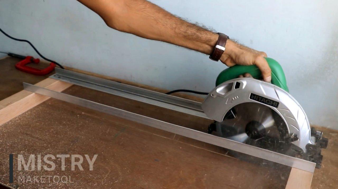 Как своими руками сделать направляющую шину для циркулярной пилы: подробное описание