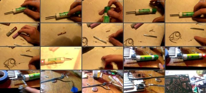 Наши руки не для скуки: самодельный паяльник 12 в из подручных материалов