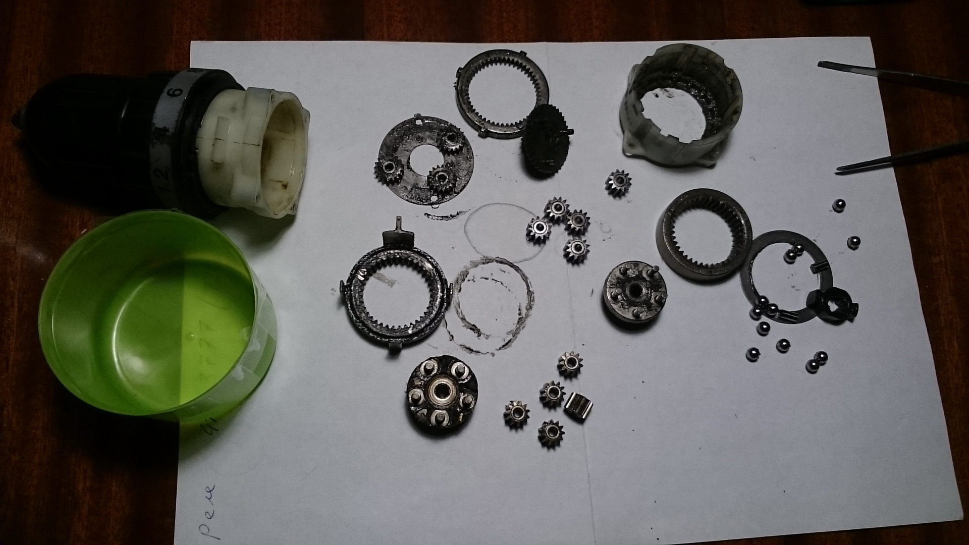 Домашняя мастерская: как отремонтировать редуктор шуруповерта?