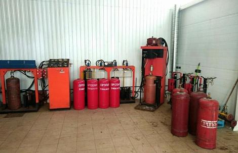 Техническое освидетельствование газовых баллонов. случаи обмена и ремонта