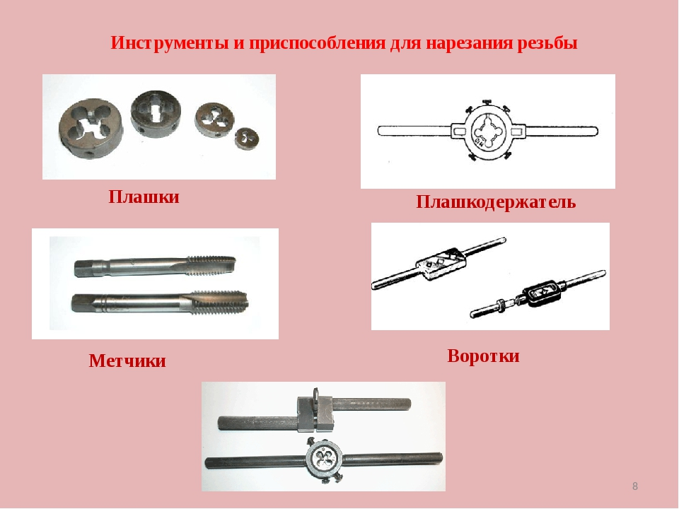 Как нарезать резьбу плашкой: виды инструмента, принципы нарезки