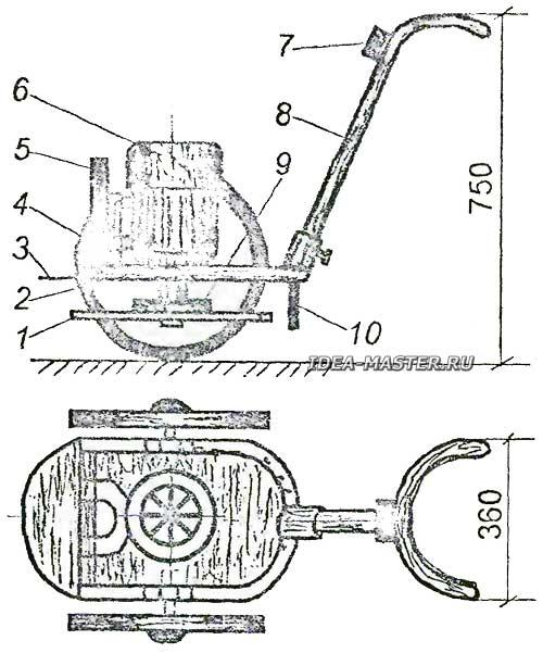 Виброплита своими руками: с электродвигателем, бензиновая, самодельная, чертежи, как сделать самому