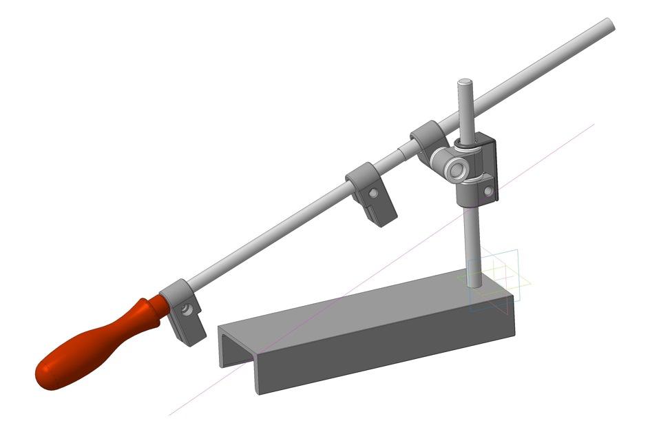 Приспособление для заточки ножей своими руками: чертеж :: syl.ru