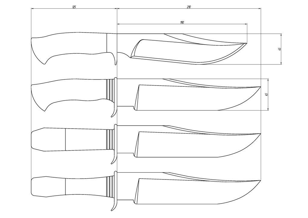 Из чего можно сделать наборную ручку для ножа и как
