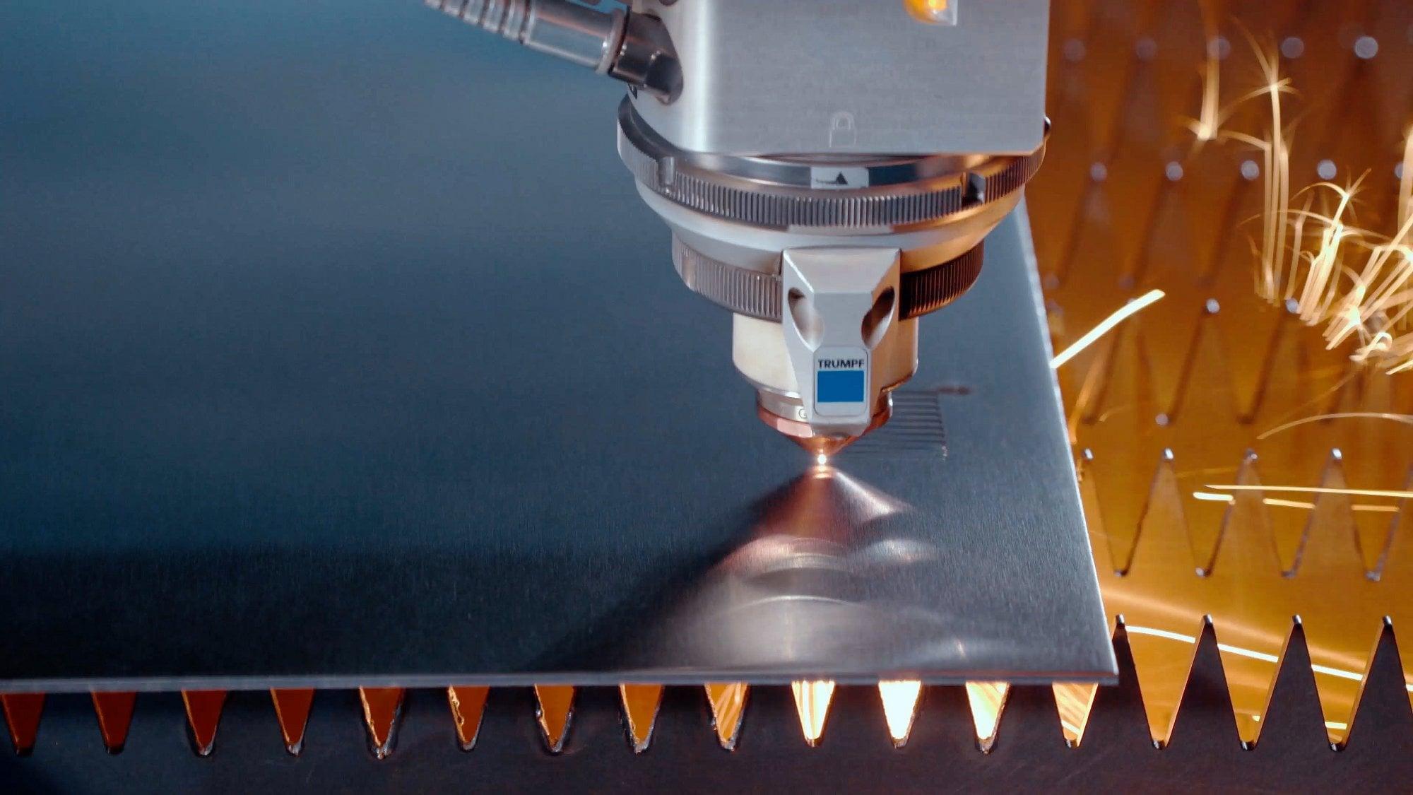 Раскрой металла, лазерный раскрой листового металла (видео)