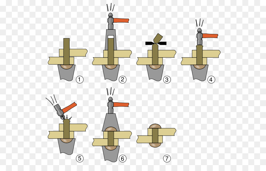 Как снять заклепку с металла - справочник металлиста