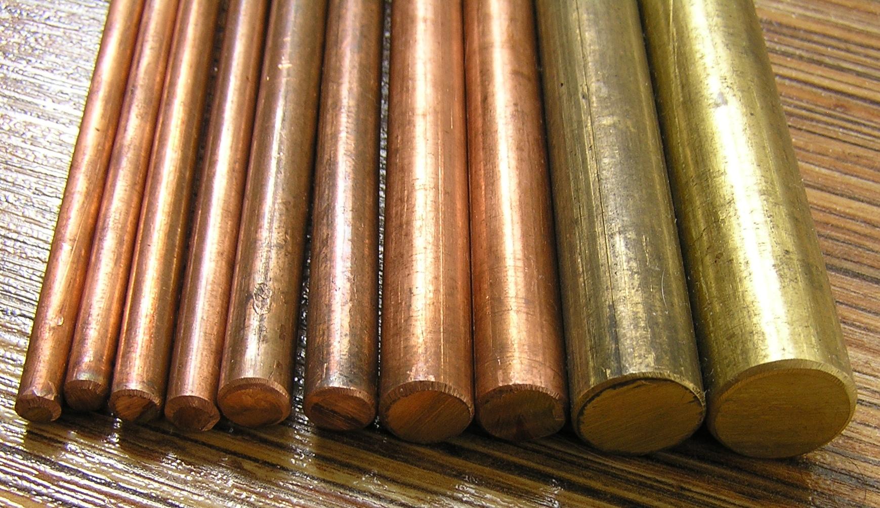 Как отличить бронзу, медь, силумин от латуни
