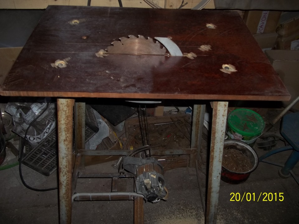 Как сделать циркулярную пилу своими руками из двигателя стиральной машины?