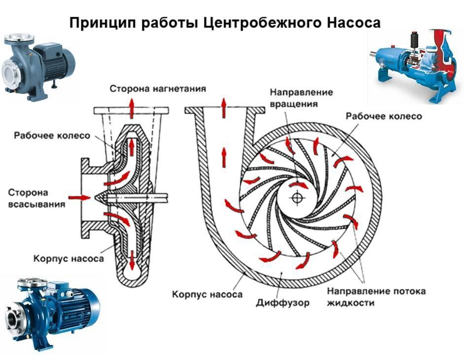 Центробежные насосы: принцип действия, конструкция, классификация