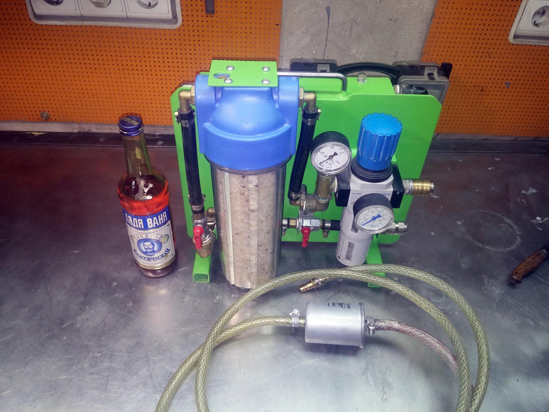 Как правильно установить влагоотделитель на компрессор