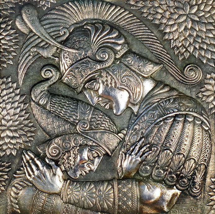 Читать книгу художественная обработка металла. чеканка илья мельников : онлайн чтение - страница 1