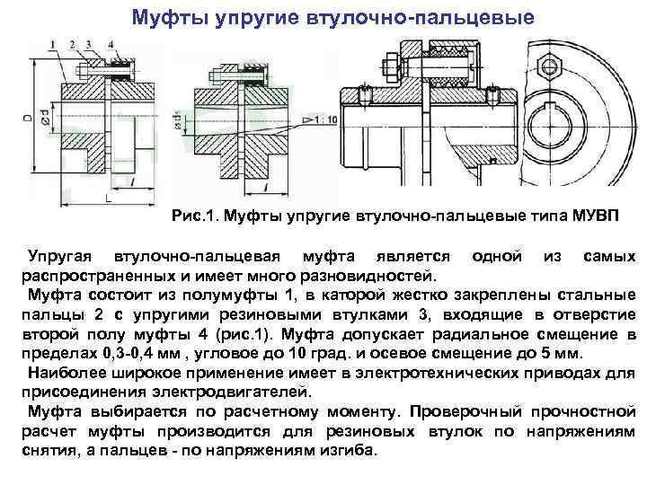 Муфта упругая втулочно-пальцевая — википедия. что такое муфта упругая втулочно-пальцевая