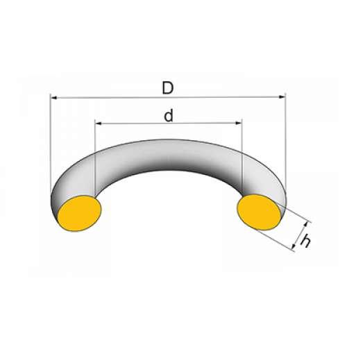Кольцо уплотнительное прямоугольного сечения - трубы и сантехника