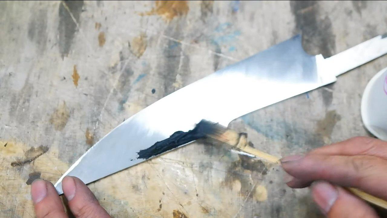 Нож из пилы своими руками