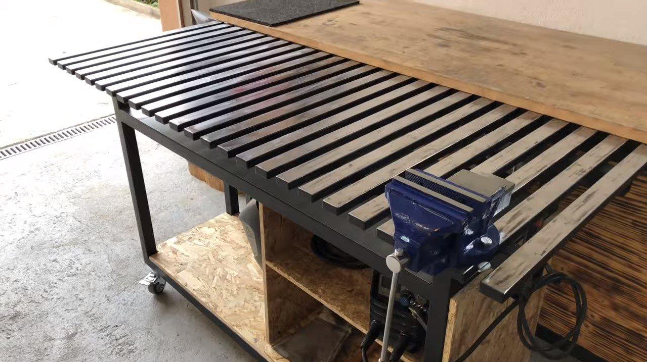 Сварочный стол своими руками — чертежи, процесс изготовления