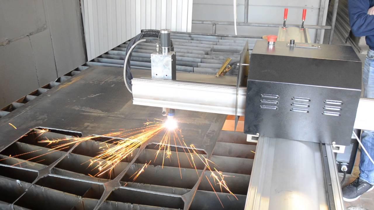 Ручная плазменная резка металла — видео и фото процесса