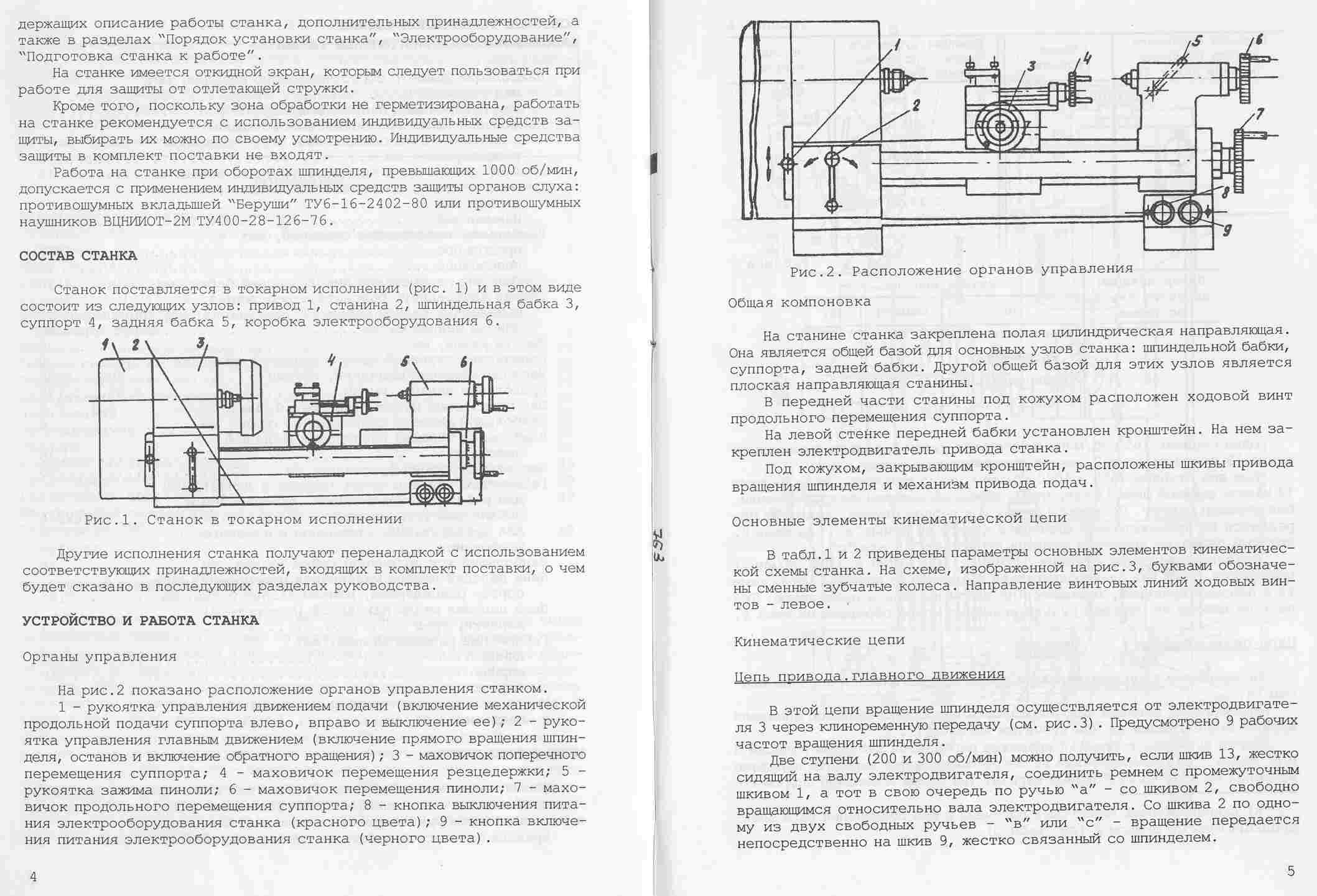 Конструкционные особенности точильно-шлифовального станка марки тш-3