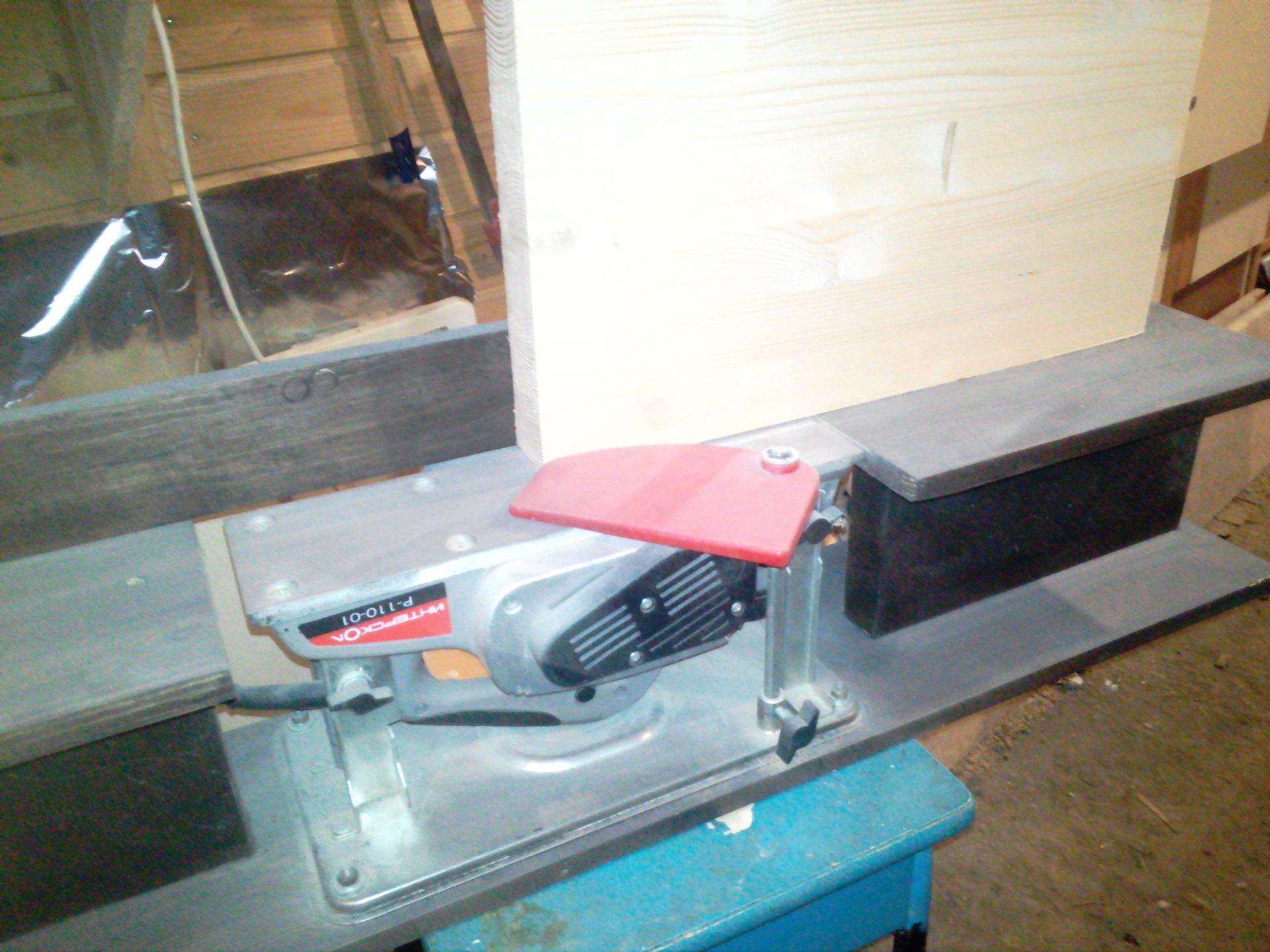 Фуговальный станок своими руками - инструкция от выбора инструмента до изготовления