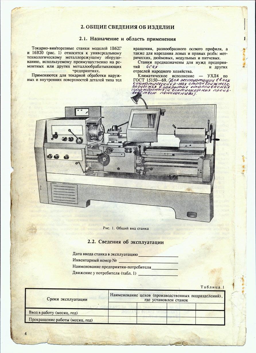 Токарный станок 1в62г: технические характеристики, паспорт, особенности конструкции