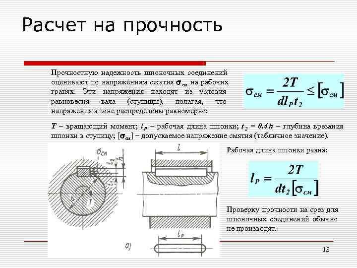 1.2 выбор посадок для шпоночных соединений.. расчет, выбор и обоснование посадок соединений - курсовая работа