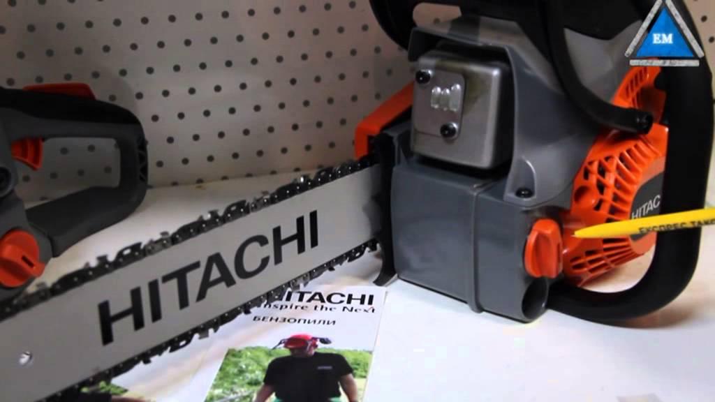 Топ-2 модели японских бензопил торговой марки hitachi (хитачи)