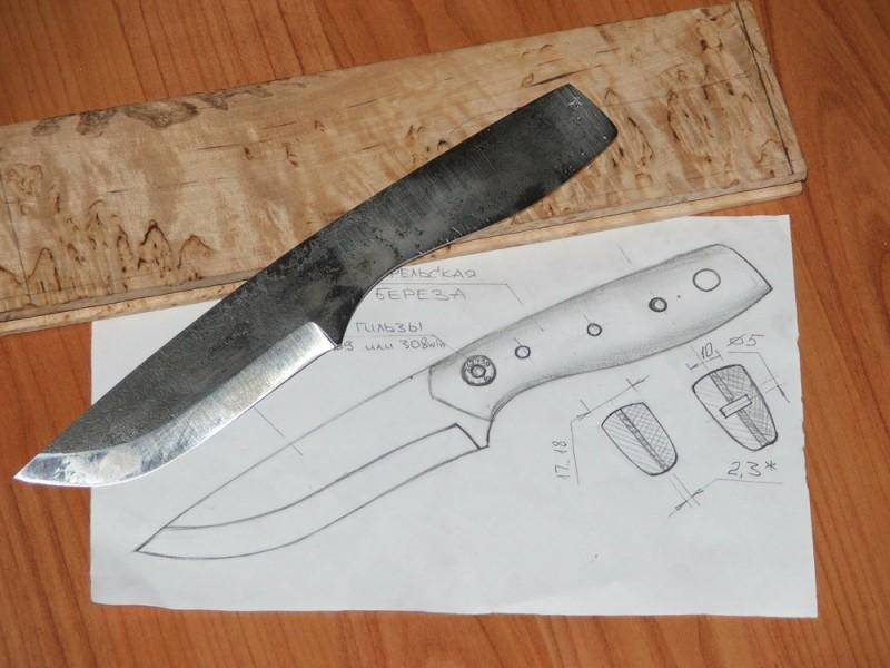 Как сделать нож из пилы своими руками в домашних условиях
