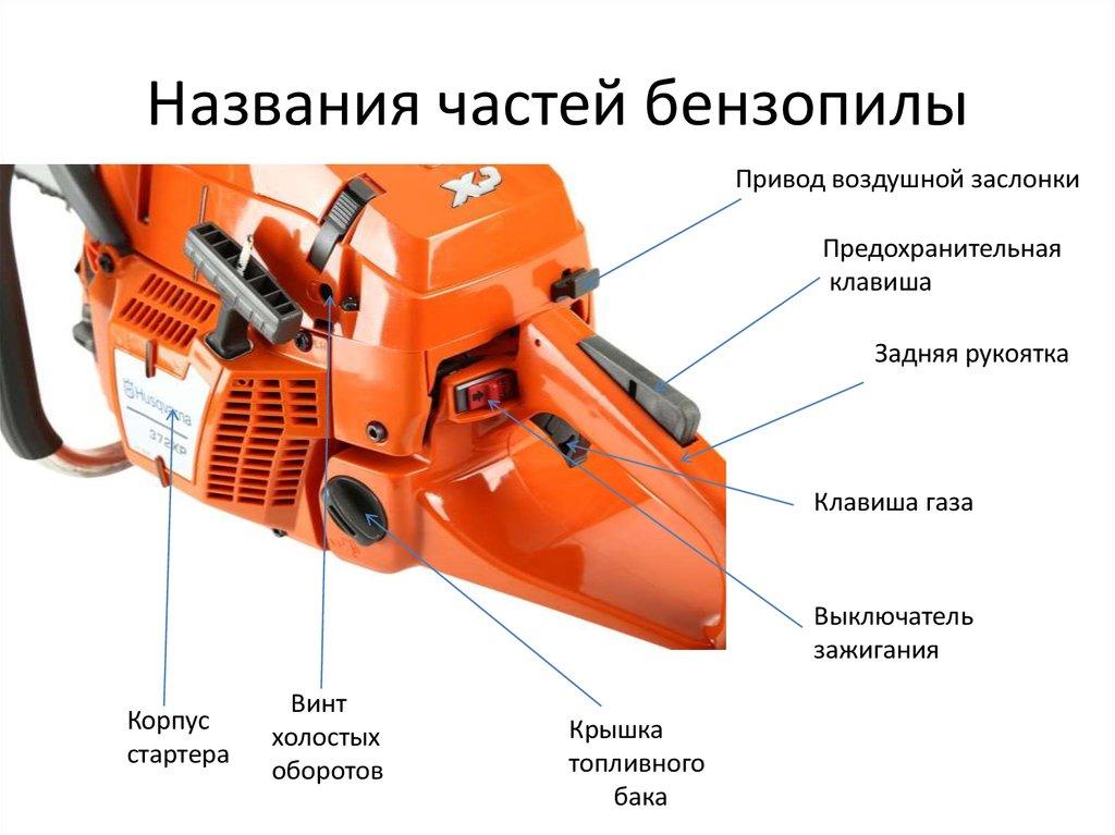 Бензопилы хускварна: обзор популярных моделей, особенности устройства