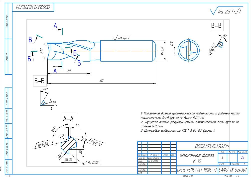 Гост р 53412-2009: фрезы для обработки пазов сегментных шпонок. технические условия