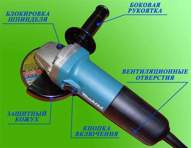 Болгарка пневматическая: устройство, характеристики, выбор
