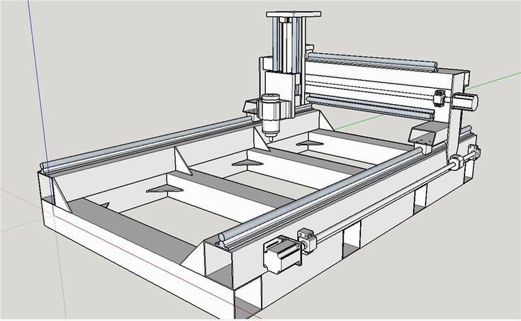 Фрезерный станок с чпу по металлу своими руками: сборка, схема