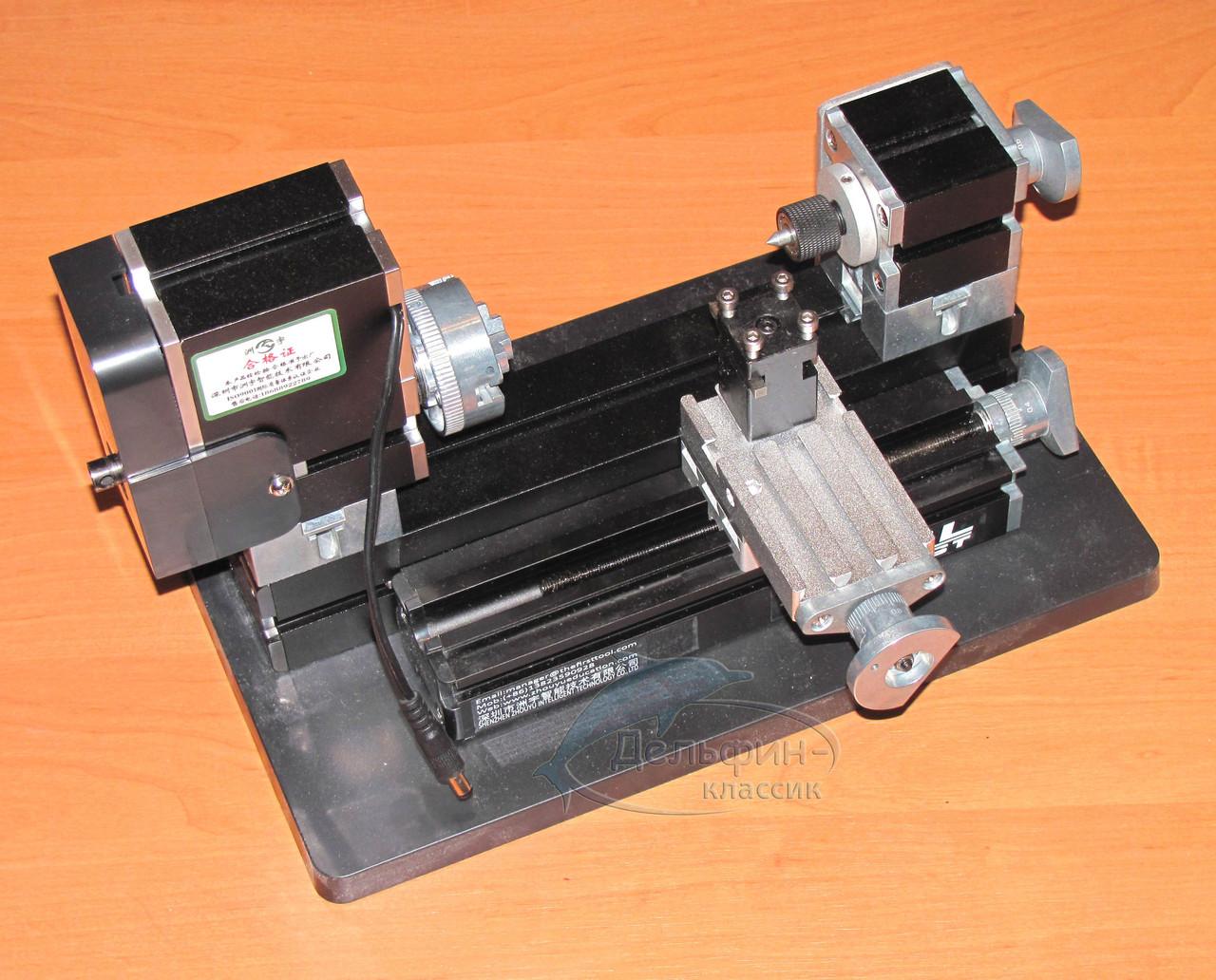 Токарный мини-станок с чпу: обзор настольных токарников по металлу