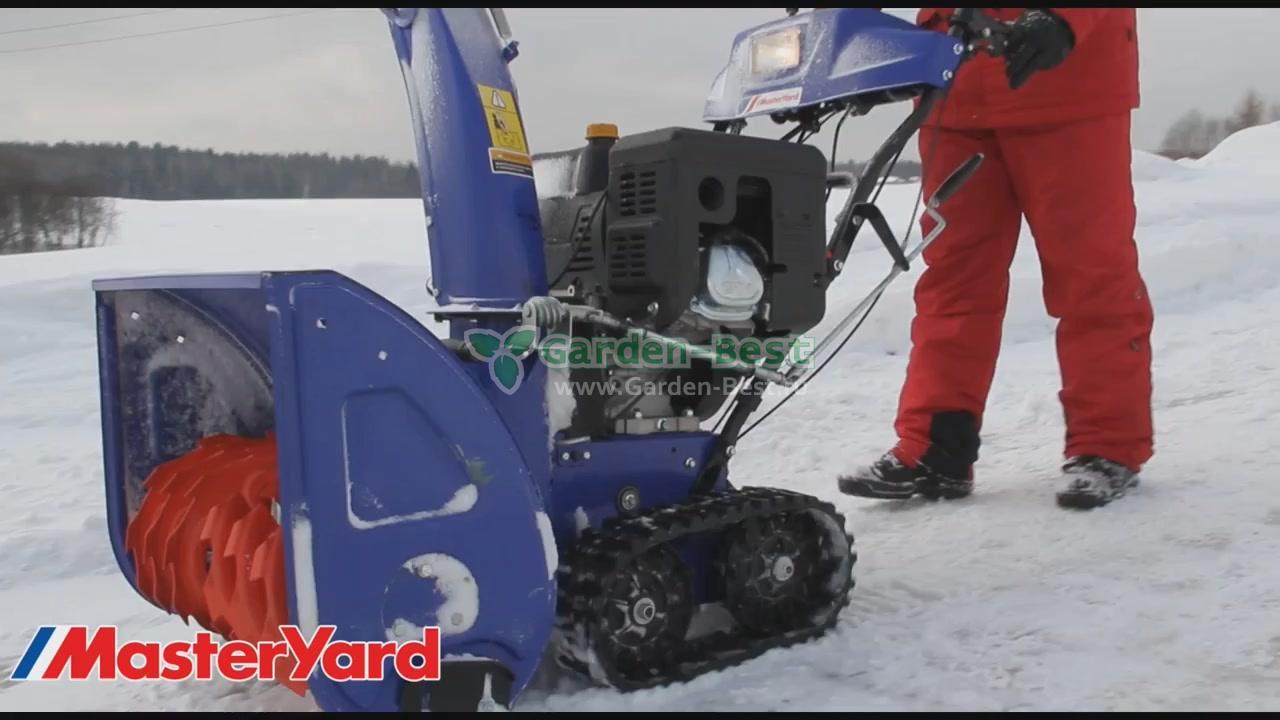 Снегоуборщики мастер ярд (masteryard), модели — характеристики
