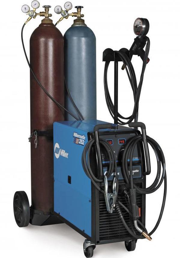 Инертные и активные защитные газы, их смеси