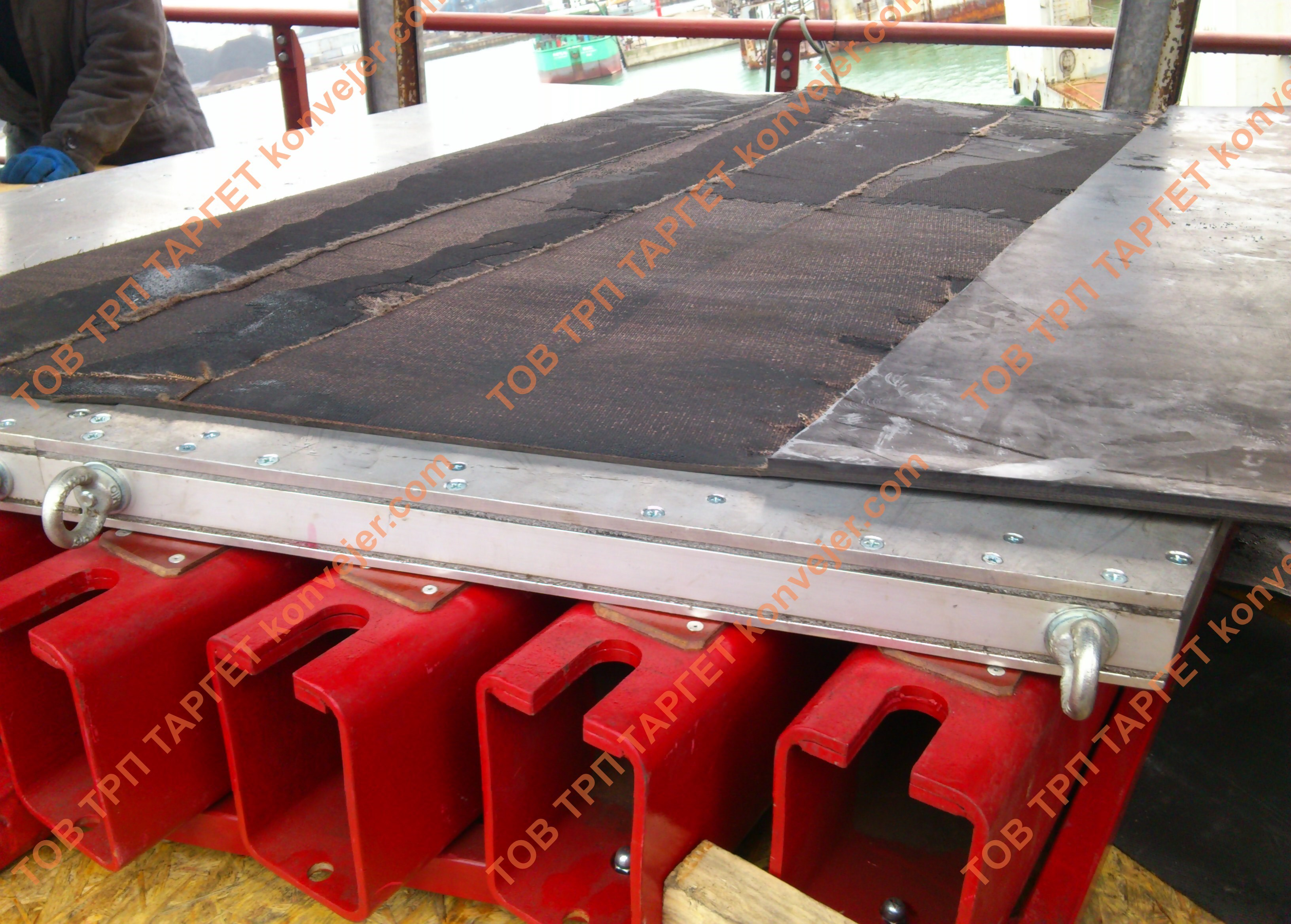 Технология стыковки транспортерной ленты механические соединения. схемы стыковки и замены конвейерных лент