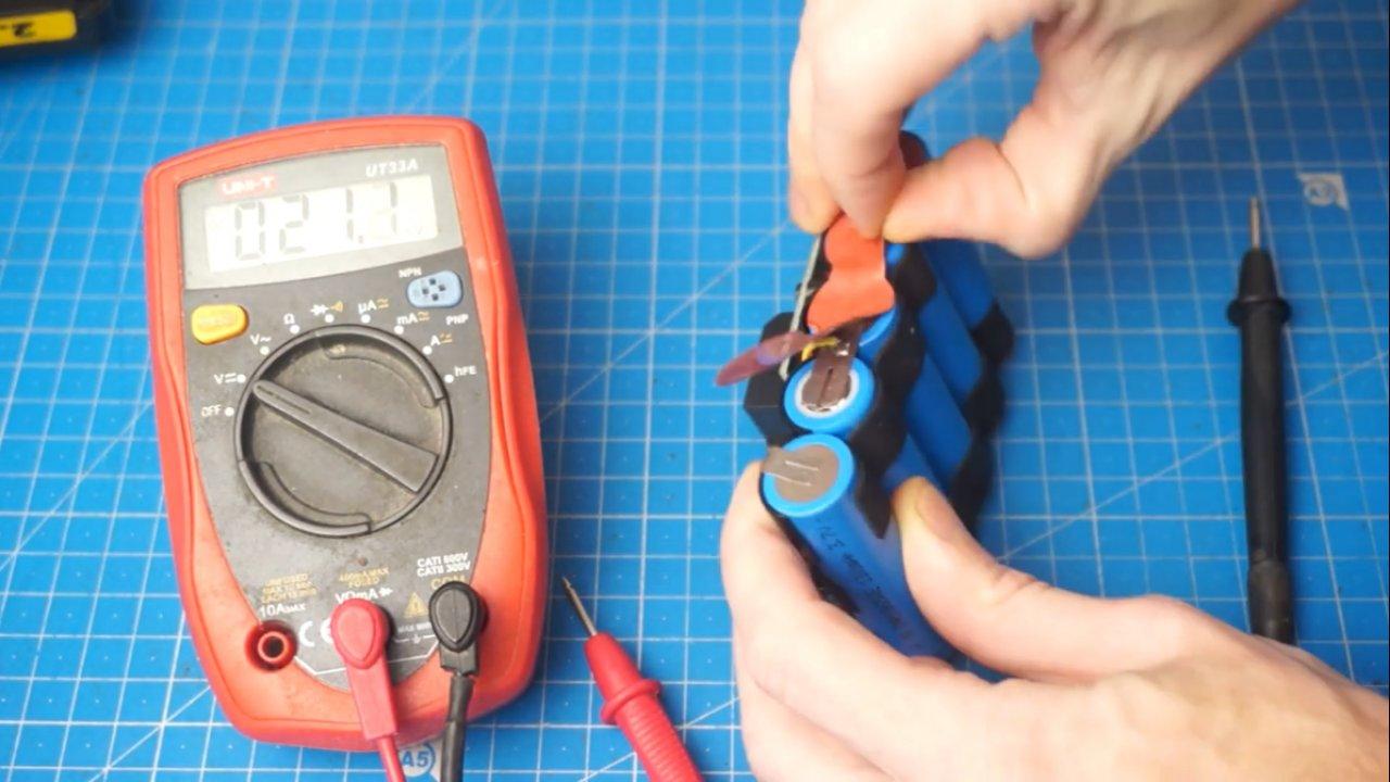 Как отремонтировать аккумулятор шуруповёрта