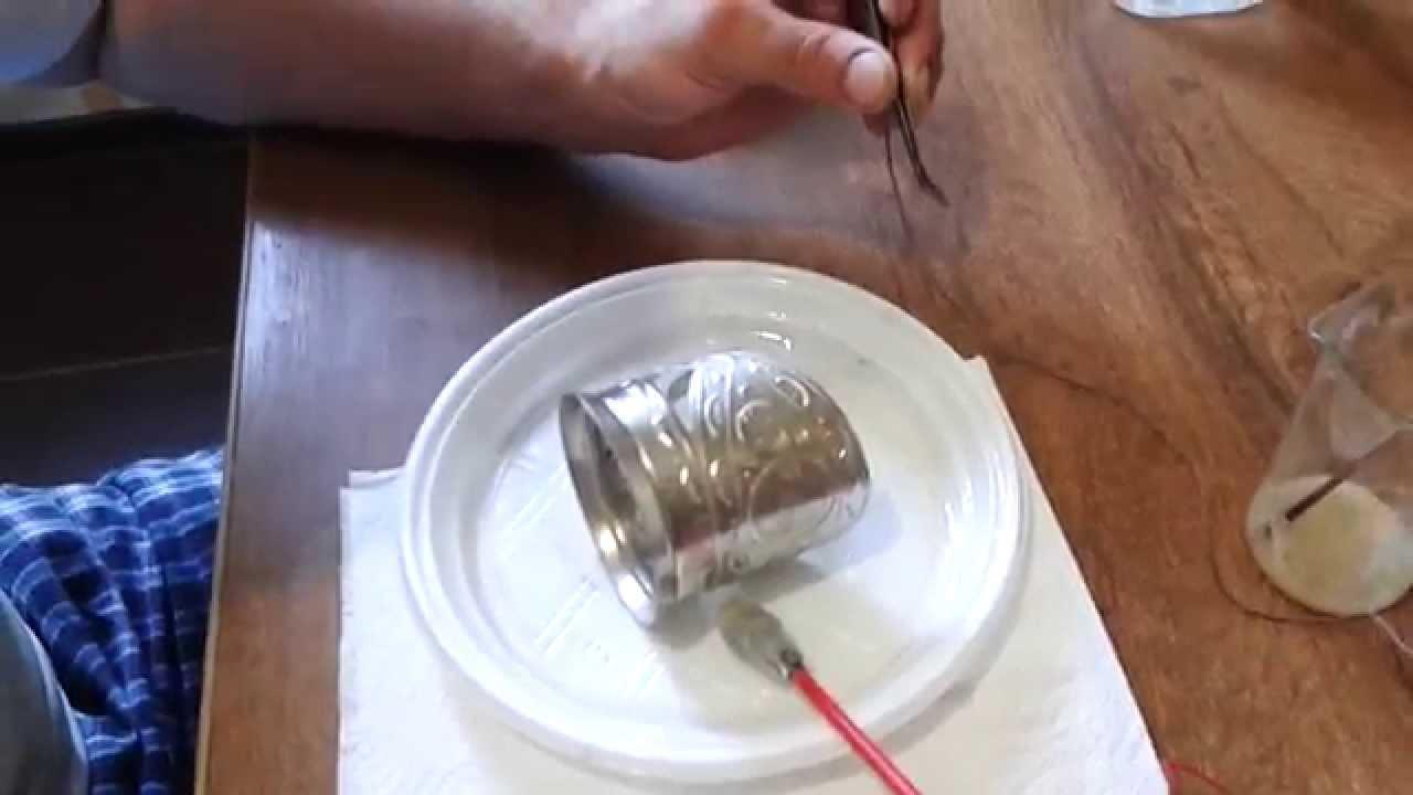 Гальваническое серебрение: покрытие деталей из меди и других металлов гальваническим способом