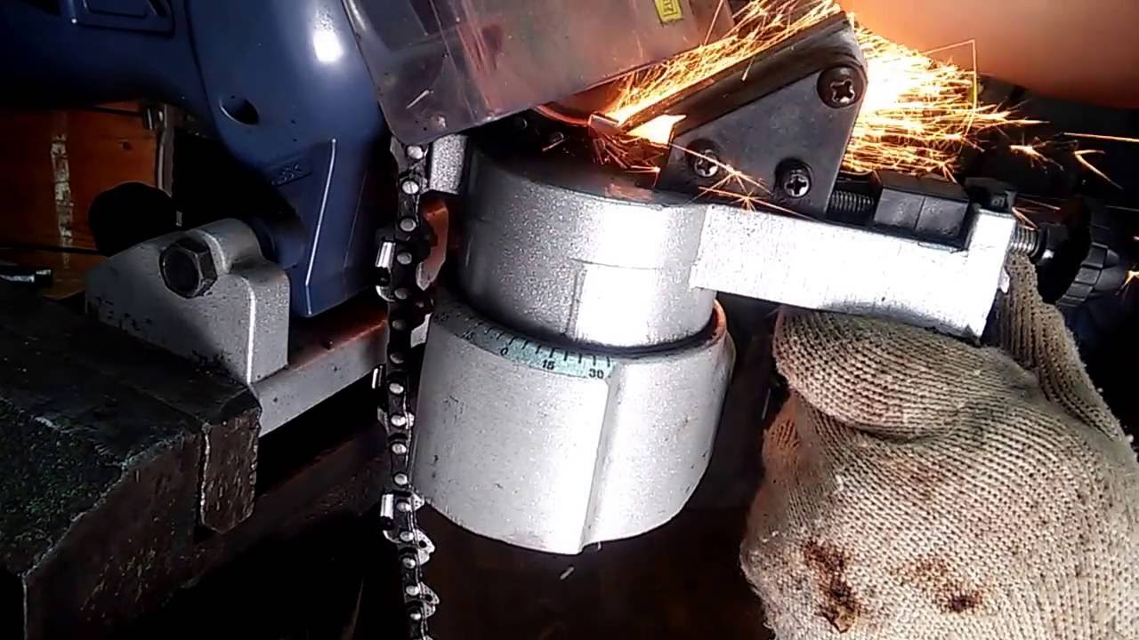 Как правильно произвести заточку цепи бензопилы своими руками?