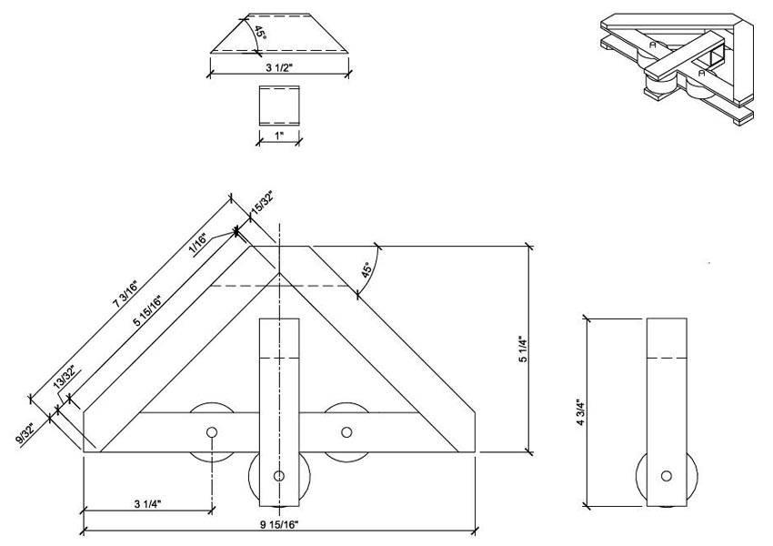 Как изготовить трубогиб своими руками для профильной трубы: размеры, чертежи