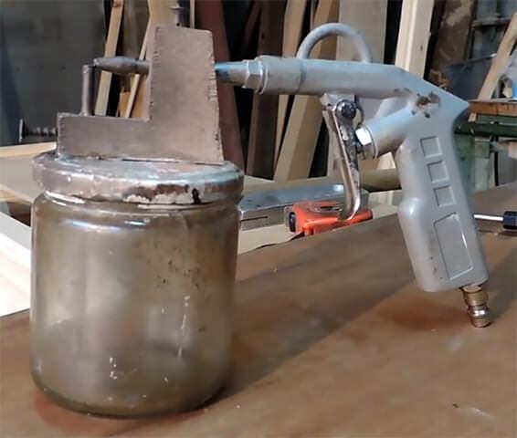 Способы изготовления краскопульта своими руками