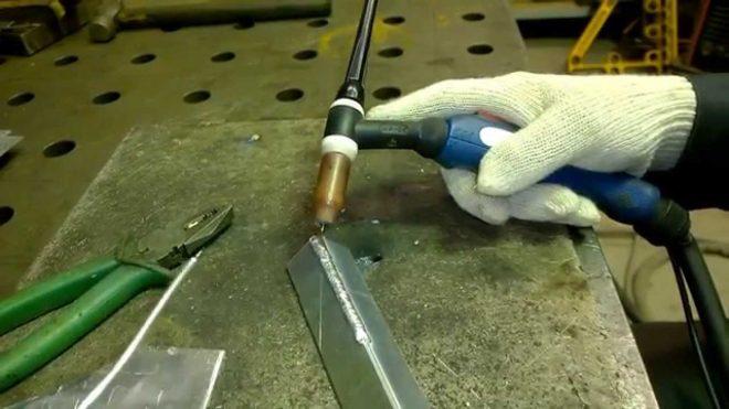 Как варить алюминий полуавтоматом для начинающих