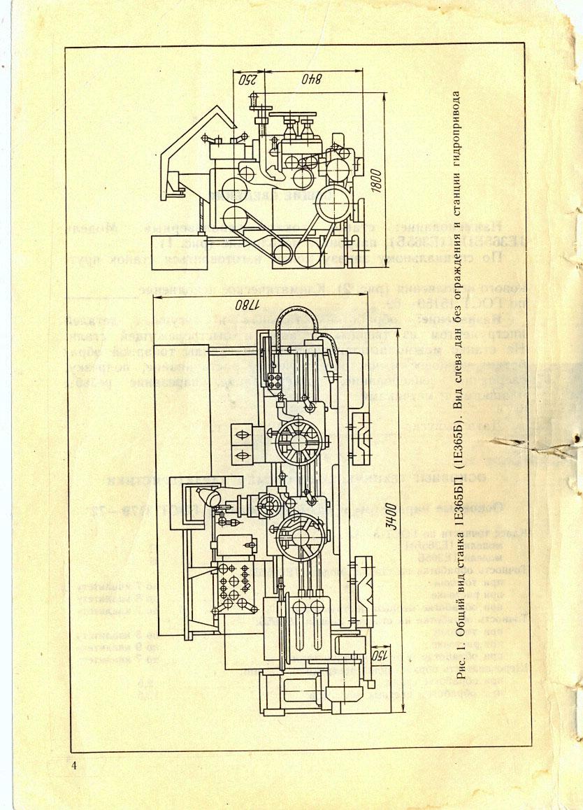 1г325 станок токарно-револьверный прутковый схемы, описание, характеристики