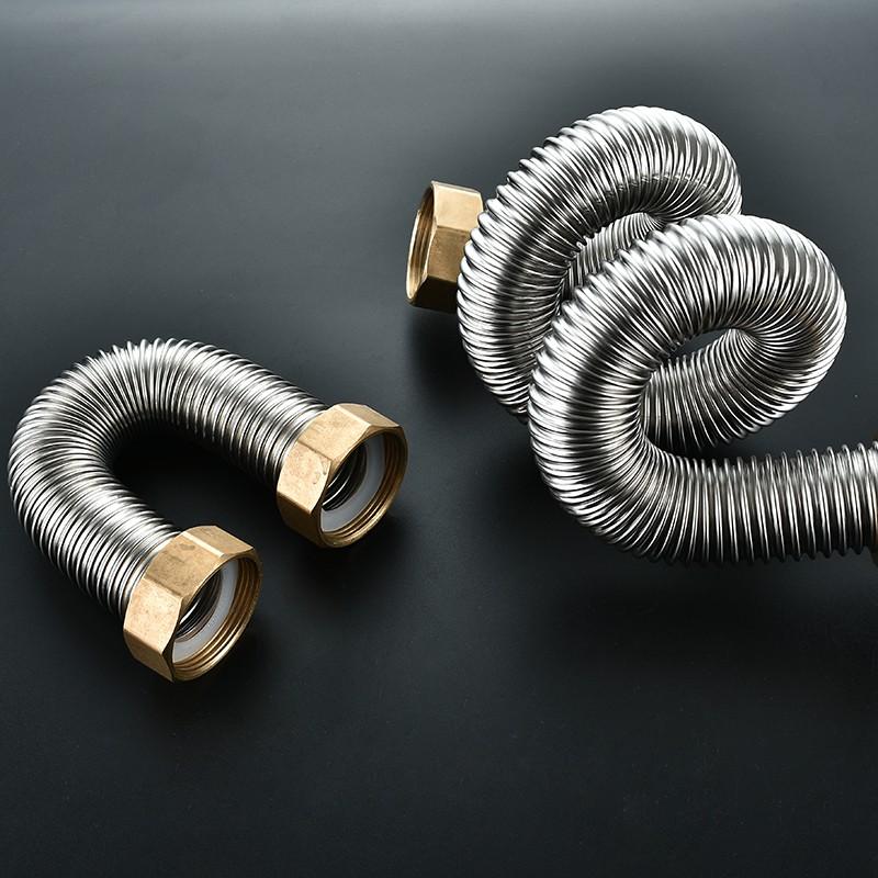 Гофрированная труба из нержавеющей стали для отопления: гибкая гофротруба из нержавейки