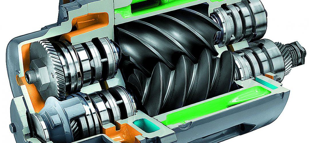 Винтовой компрессор - устройство и принцип работы