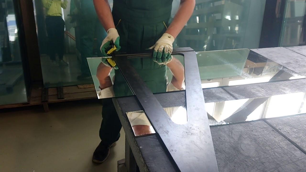 Как резать стекло и другие материалы стеклорезом?